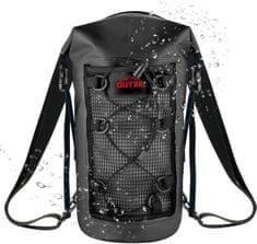 Outxe IPX7 100% Vodeodolný TPU 10L batoh, black (EU Blister) 2439334