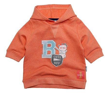 Gelati chlapecká mikina Hoody 98 oranžová