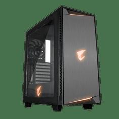 Gigabyte gaming ohišje AC300W REV2, ATX, črno