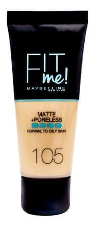 Maybelline tekoči puder Fit Me Matte, 105 Natural Ivory