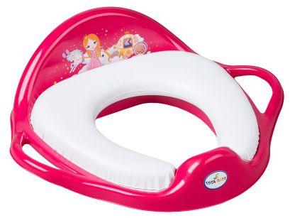Tega Dětské sedátko na WC měkké, Malá princezna