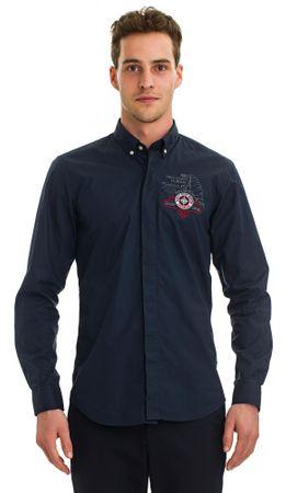 Galvanni pánská košile Showlow M tmavě modrá