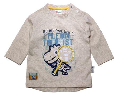 Gelati chlapecké tričko Paleontologist 62 šedá