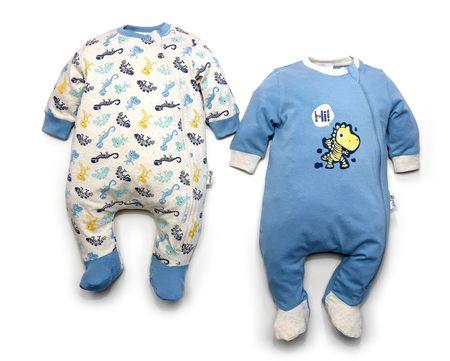 Gelati piżamy chłopięce set 2 szt. 50 szary/niebieski