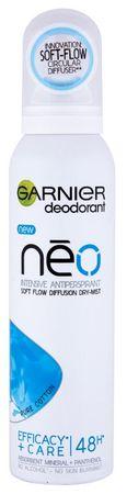 Garnier antiperspirant v razpršilu Mineral NEO Pure Cotton, 150 ml