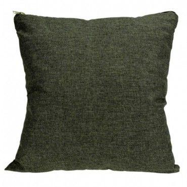Marex Trade Dekorační polštář 45 x 45 cm šedá/zelená