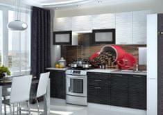 Kuchyně FINTONA 200/260, black stripe