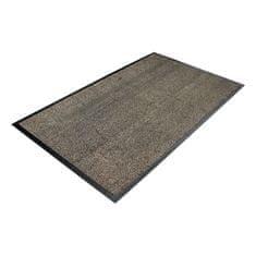 Béžová textilní čistící vnitřní vstupní rohož - 0,8 cm