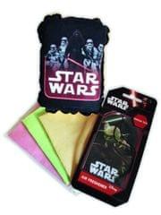 KAJA Darčekový set, súprava do auta, 5 ks, motív Star Wars, špongia Kylo Ren + Trooper, vôňa Zelený čaj
