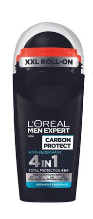 L'Oréal antiperspirant Men Expert Carbon Protect Roll-on, 50 ml