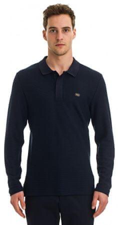 Galvanni koszulka polo męska Toil M ciemny niebieski