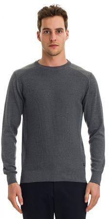 Galvanni moški pulover Truiden, XXL, siv