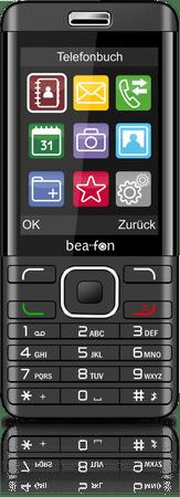 Beafon GSM telefon C350 dualSIM, črn