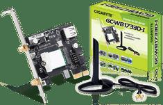 Gigabyte PCIe mrežna kartica GC-WB1733D-I, Wi-Fi AC + Bluetooth 5