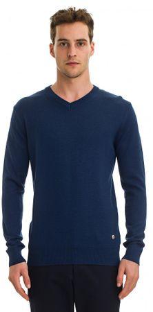 Galvanni moški pulover Wodonga, XL, temno moder