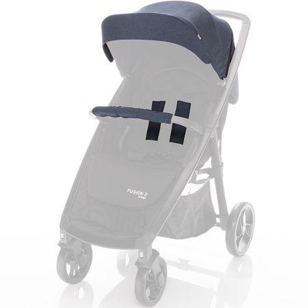 ZOPA komplet za voziček Fusion 2, Denim Blue