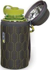 Nalgene varovalna obleka za plastenko, zeleno-siva