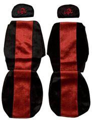 F-CORE Poťahy na sedadlá PS02, červené