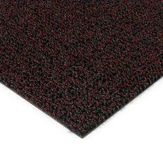 FLOMAT Červená plastová zátěžová venkovní vnitřní vstupní čistící zóna Rita, FLOMAT - 1 cm