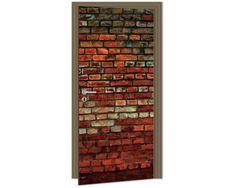 Dimex Fototapeta na dvere DL-022 Tehlový múr 95 x 210 cm