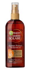 Garnier Ambre Solaire golden protect olje v spreju SPF10, 150ml