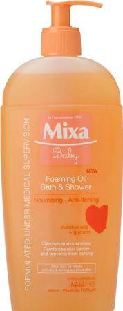Mixa gel za prhanje z olji Baby, 400 ml