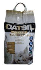 Catsil mačji posip, ultra beli, 8 L