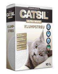 Catsil mačji posip, ultra beli, 10 L