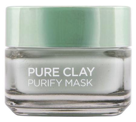 Loreal Paris maska za čiščenje in matiranje kože Pure Clay Purify, 50 ml