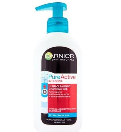 Garnier Skin Naturals Pure Active gel za čiščenje proti ogrcem, 200 ml