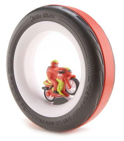 Little Tikes Závodní pneumatika - motorka