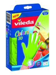 Vileda rokavice MultiSensitive, M/L, 50/1, zelene