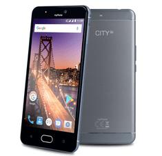 myPhone smartfon CITY XL, srebrny