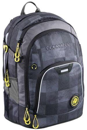 559659d5093c8 CoocaZoo plecak szkolny Rayday, Mamor Check   MALL.PL
