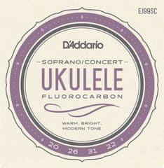 Daddario EJ99SC Struny na sopránové/koncertné ukulele