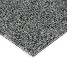 FLOMAT Šedá kobercová vnitřní čistící zóna Catrine, FLOMAT - 1,35 cm