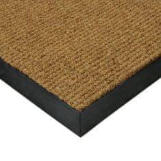 FLOMAT Béžová textilní zátěžová čistící vnitřní vstupní rohož Catrine, FLOMAT - 1,35 cm