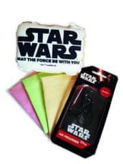 KAJA Darčekový set, súprava do auta, 5 ks, motív Star Wars, špongia Star Wars, vôňa Black