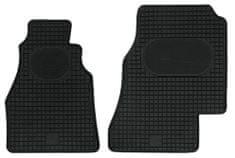 POLGUM Gumové koberce, predné, 2 ks, čierne, pre vozidlá  Mercedes-Benz Sprinter do r. 2006 a VW LT 1996-2006
