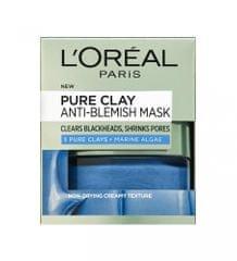 Loreal Paris maska za čiščenje in ožanje por Pure Clay AntiBlemish, 50 ml