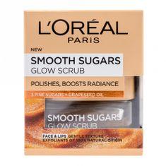 Loreal Paris sladkorni piling z oljem grozdnih pešk Smoth, 50 ml