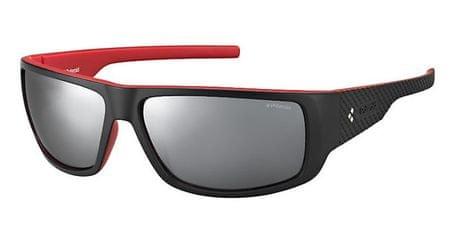 POLAROID sončna očala Sport PLD 7006/S, črno-rdeča