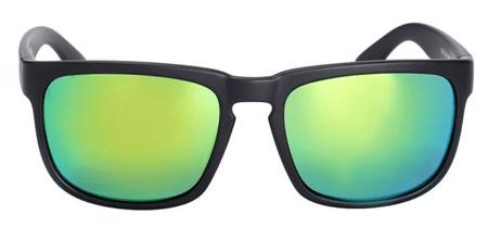 Nugget unisex černé sluneční brýle Clone