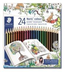 """Staedtler Barvni svinčniki """"Noris Color"""" Johanna Basford omejena izdaja, 24 barv, šesterokotne"""