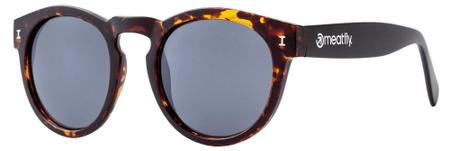 MEATFLY okulary przeciwsłoneczne unisex Pompei brązowy