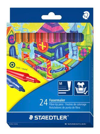 Staedtler Filctoll készlet, 24 szín, 1 mm
