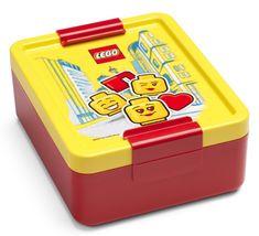 LEGO Iconic girl box na svačinu - žlutá/červená - zánovní