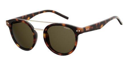 POLAROID sončna očala PLD 6031/S, havansko rjava, z rjavimi stekli