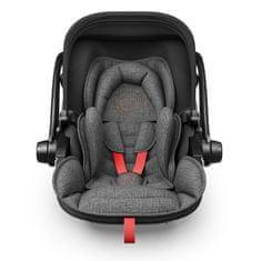 KIDDY fotelik dziecięcy Evoluna i-Size 2 Grey Melange 2018