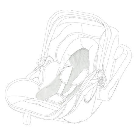 KIDDY Letnia wkładka Becool dla fotelika samochodowego Evolution2 Evo Luna I-size